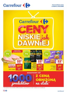 Carrefour (19.01.2021 — 31.01.2021)